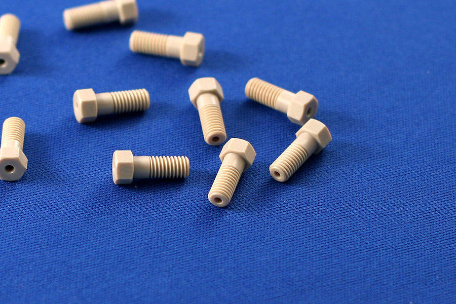 Fittings and tubing peek nuts for quot